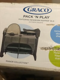 ! Never opened Graco Pack n play with bassinet &changing table. Burtonsville, 20866