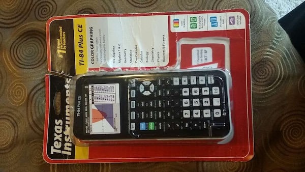 used ti 84 plus ce graphing calculator for sale in chicago letgo