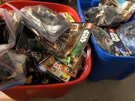 Lego 60lbs star wars lone ranger monster fighter city marvel and more