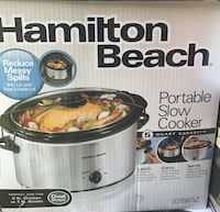 Hamilton Beach Portable Slow Cooker Norwalk, 90650