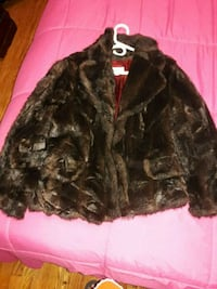 black and brown fur jacket New York, 10472