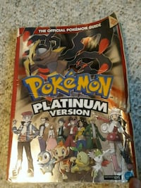 Pokemon Platinum Version Game Guide Woodbridge, 22193
