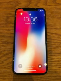 Flunka ny IPhone x stellargrey 64gb Oslo, 0475
