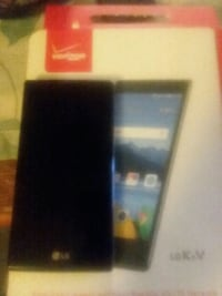 black LG Android smartphone with box Jermyn, 18433