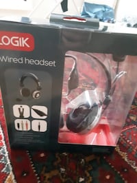 Logik wired headset