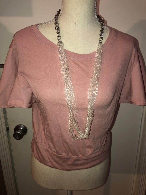 Woman's Pink Top, size Small