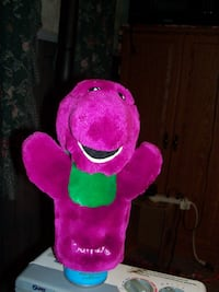 vintage Barney Puppet..firm price.. Corbyville