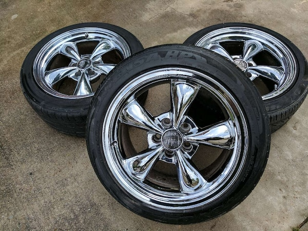 Ford Mustang Rims >> 17in Chrome Ford Mustang Bullitt Rims