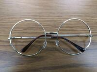 SUPER LARGE SLIM Metal Classic Round Frames Washington