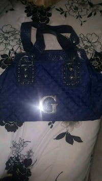 NAVY BLUE GUESS PURSE Damascus, 20872