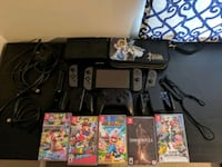 Nintendo Switch with 5 games and Accessories Silver Spring, 20906