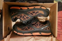 Black and orange safety shoes 8.5 size  Patterson, 95363