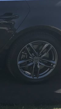 Michelin x ice 3 with 17 inch alloy rims only fits Audi A4 Brampton, L7A 0E4
