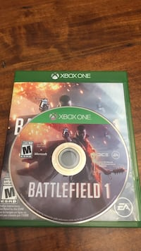 Xbox One Battlefield 1 game disc Thames Centre, N0L