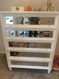 white wooden framed glass display cabinet Plymouth