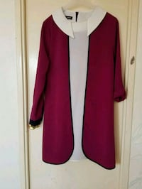 women's red and black long sleeve dress Vaughan, L4H 2L3