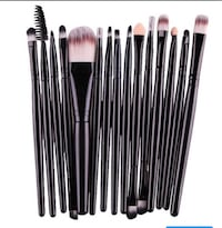 Black makeup brushes Markham, L3P 0L6