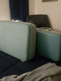 two white and green mattresses Tallahassee, 32309