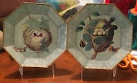I am moving and selling this pair of antique pair of decorative plates along with 2 stands. Germantown, 20874