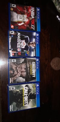 4 ps4 games  Cheswold, 19904
