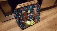 Lily Bloom Under Seat Cabin Tote wheeled Carry-on  Luggage, NEW, Sloth Mobile
