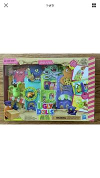 UglyDolls UglyVille Unfolded Main Street Playset