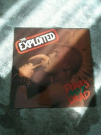 the exploited punks not dead lp plak Istanbul