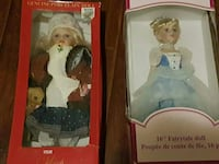 Porcelaine dolls with and without boxes London, N6G 4R9