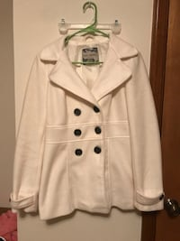 white double breasted trench coat Hopkinsville, 42240