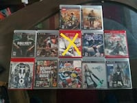 assorted Sony PS3 game cases El Paso, 79907