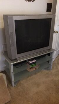 1990s Big screen TV, and TV stand Shawnee Land