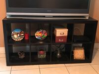 black wooden framed glass display cabinet Miami, 33122