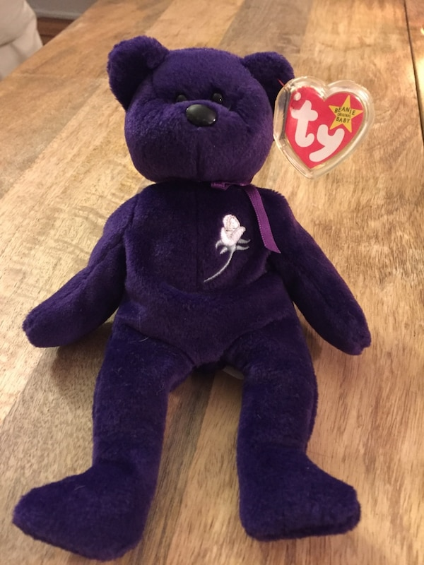 Used Princess diana ty beanie baby for sale in New York - letgo 28219296cb8