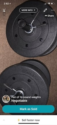 Must sell ASAP!  A pair of 14 pound weights. Albuquerque, 87123