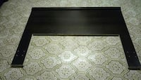 black and white wooden coffee table Ontario, M1B 2J1