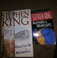 Buy a first edition Stephen King get a paperback free! Houston, 77080