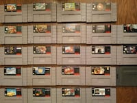Super Nintendo SNES games for sale individually  557 km