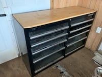 Toolbox with work bench surface  Marietta, 17547