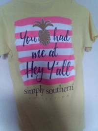 New ladies size small simply southern t-shirt $5 Spartanburg, 29303