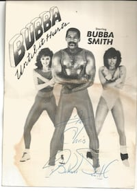 Bubba Smith Until It Hurts - Autographed Photo