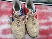 pair of white-and-red Nike running shoes Lawrenceville, 30046