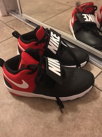 Pair of black-and-red nike basketball shoes Edmonton, T5P