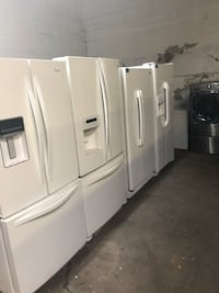 white french door refrigerator lot Linden, 07036