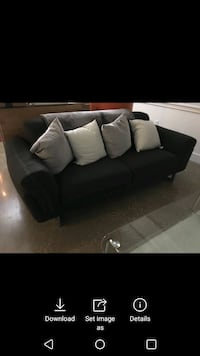 Couch, pillows, table for $ 200.00 Washington, 20036