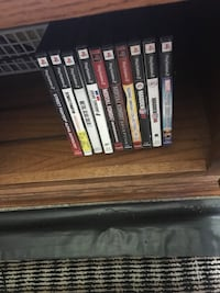 Assorted sony ps3 game cases Cozad, 69130