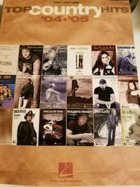 Top Country Hits Piano, Vocal, Guitar Bk. Westland, 48185