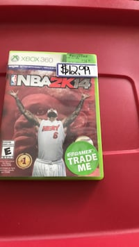 NBA 2K14 Xbox 360 game case Burlington, L7M