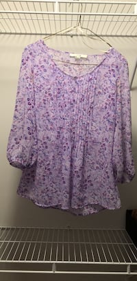 Purple Floral Top (S) Forever 21 Toronto, M6S 5B6