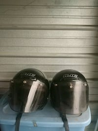 two black and white full-face helmets Martinsburg, 25404