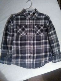 Boys Long sleeved Button Up size 8(for pickup) Alliance, 44601